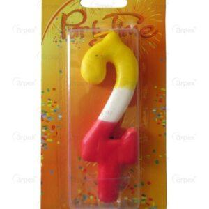 Farebná sviečka číslo 2 - Arpex