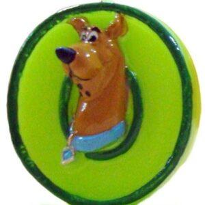 Narodeninová sviečka na tortu Scooby Doo - číslo 0 - Arpex
