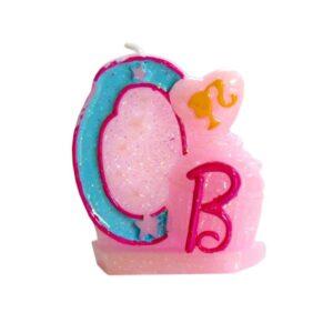 Narozeninová svíčka Barbie číslo 0 - Arpex
