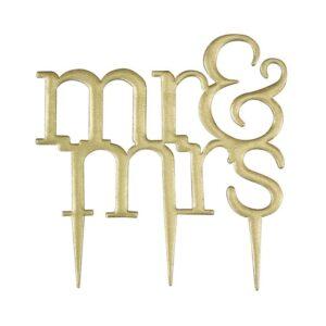 Šablóna na zápich Mr & Mrs - Modern - PME