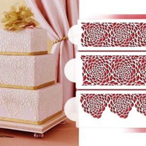 Stencil - Camilla Rose Cake set - Designer Stencils
