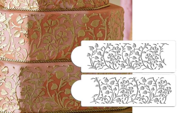 Stencil - Gilded Floral Set - Designer Stencils