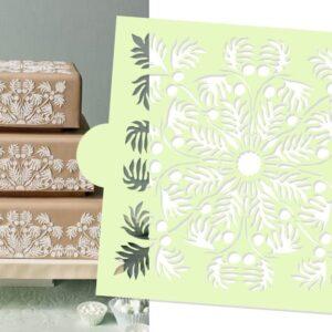 Stencil - Hawaiian Palms Top - Designer Stencils