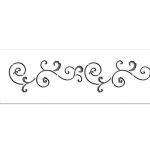 Stencil - Malý filigránkový pás - Designer Stencils