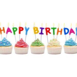 Svíčky Happy Birthday - GoDan