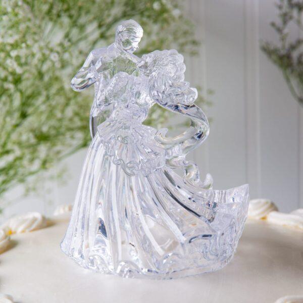 Wilton Bianca - Clear Acrylic- Wedding Topper - Wilton