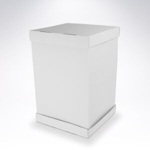 Trojdielna krabica na tortu 450x450x500