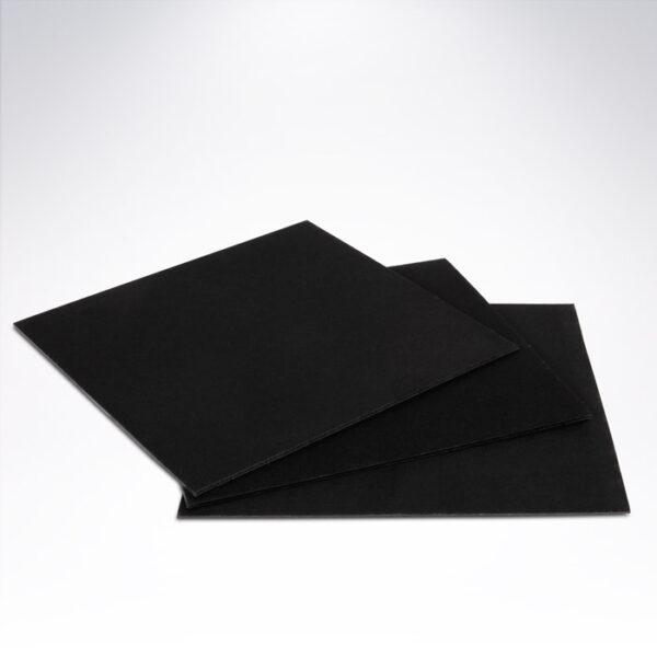 Podložka pod zákusok 10x10 cm čierna