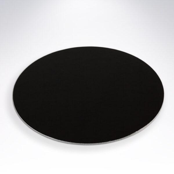 Tortový podnos čierny ∅24